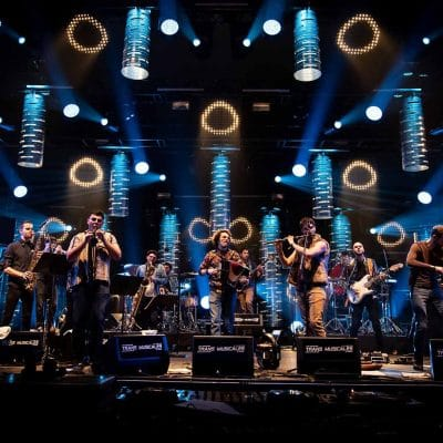 Natah Big Band sur scène
