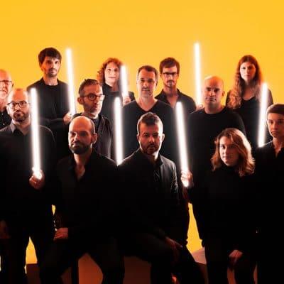 Orchestre National de Jazz 2020 jaune
