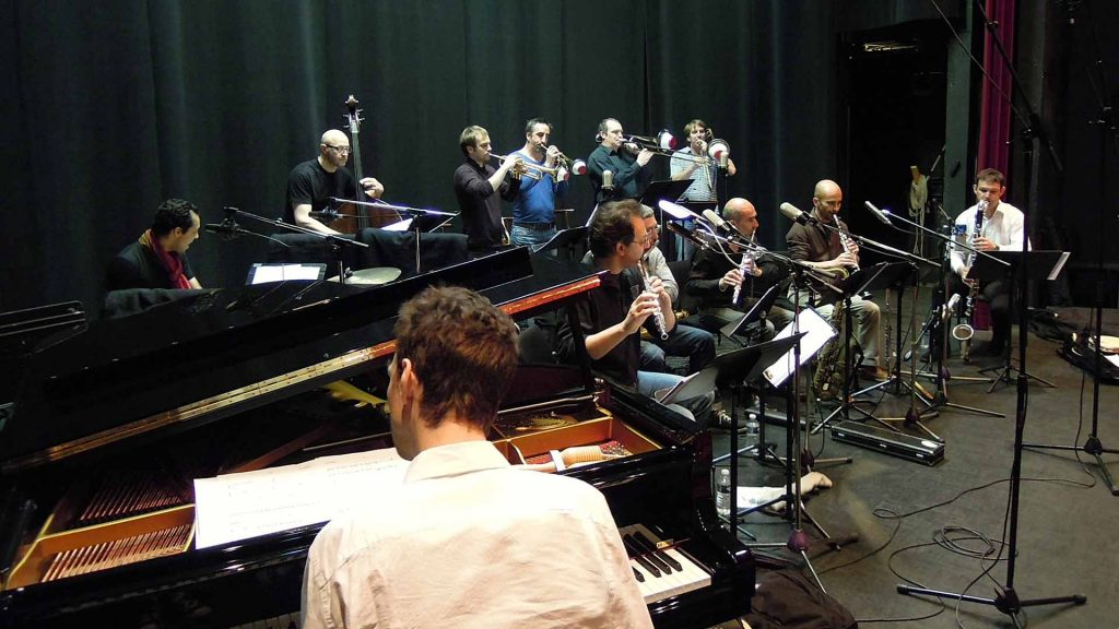 Dal Sasso Big Band en répétition