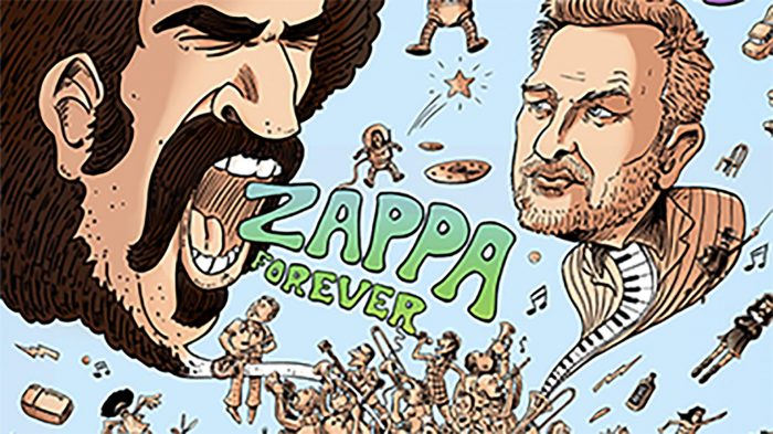Pochette album Zappa forever